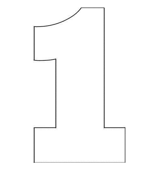 number 1 birthday cake template coloring pages stencil of number 1 4 zayn birthday