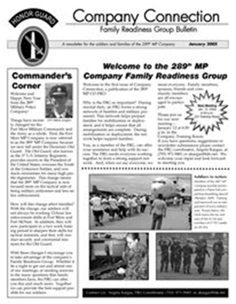 Army Frg Newsletter Template 1000 Images About Frg Family Readiness Group On Pinterest Military Military Families And