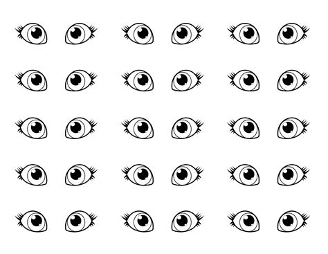 eyes printable pictures eye coloring download eye coloring