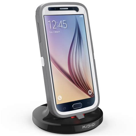 Diskon Wireless Charging Dock For Samsung Galaxy S6 S7 kidigi 2a rugged dock charger samsung galaxy s6