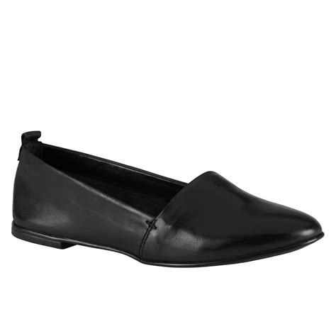 aldo faesa toe slip on shoes in black lyst