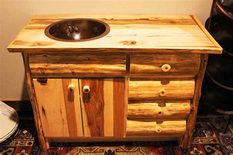 kitchen sinks and tobago crafted rustic vanities for your mountain home