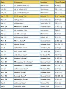 baseball schedule template free free software baseball schedule template free