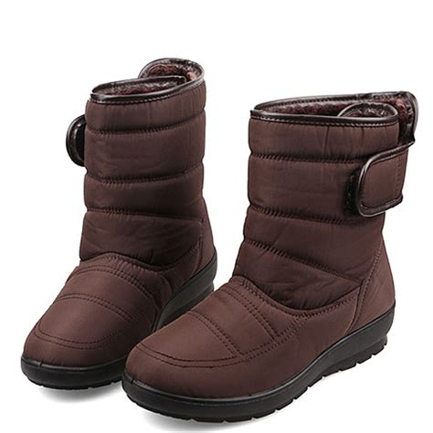 big 5 snow boots big size winter keep warm snow waterproof boots