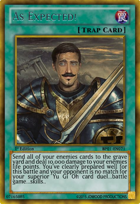 Just As Expected by You Just My Activated My Trap Card Rebrn