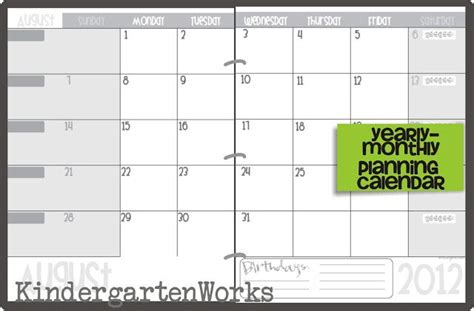 teacher monthly planning calendar template printable calendar 2016 2017 calendar template teaching