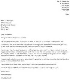 Notice Letter For Resignation by Shorter Notice Period Resignation Letter Exle Icover Org Uk