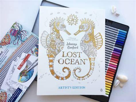 lost ocean artists edition 82 lost ocean coloring book download lost garden coloring book orangery by pippa rossi