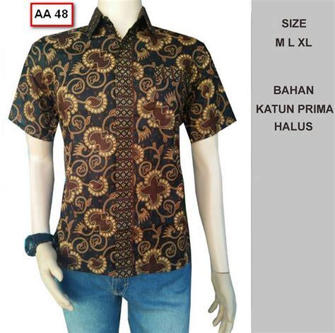 Kemeja Batik Kemeja Lengan Pendek Kemeja Pria Santika Size Jumbo 100 gambar foto model baju batik cowok dengan model baju