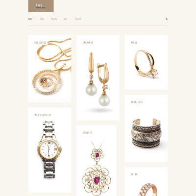 Best Handmade Websites - premium jewelry themes templatemonster