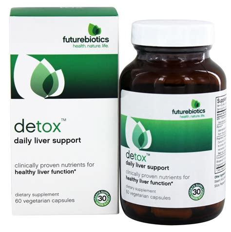 Detox Buy by Buy Futurebiotics Detox Daily Liver Support 60