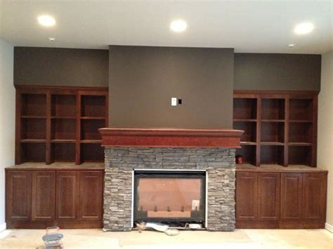 built in fireplace cabinets fireplace built in cabinets home