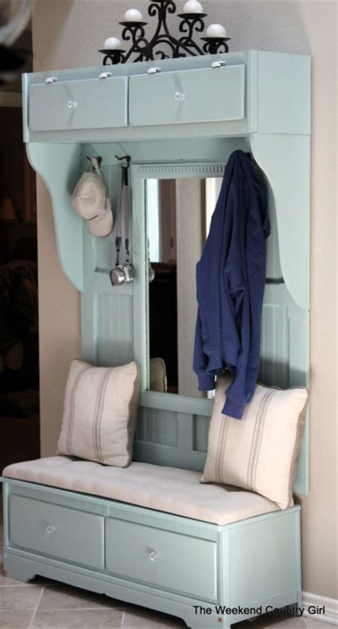build a mudroom bench mudroom bench from an old dresser remodelaholic