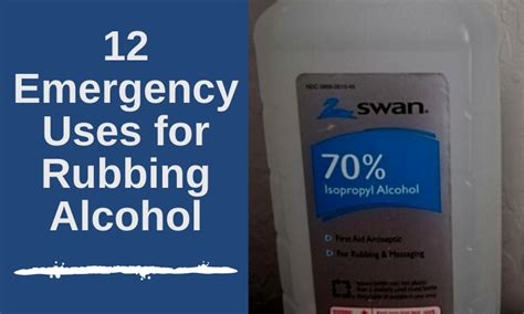 emergency   rubbing alcohol apartment prepper