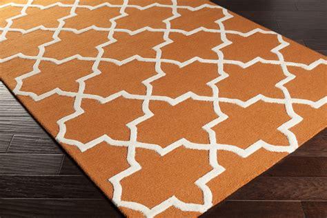 orange and white area rug artistic weavers pollack keely awdn2025 orange white area rug
