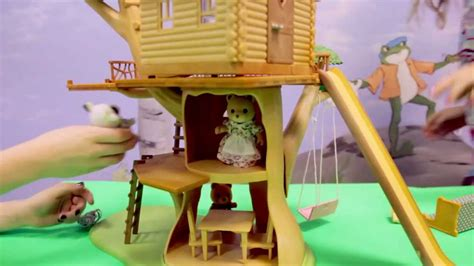 calico critters tree house calico critters adventure tree house youtube