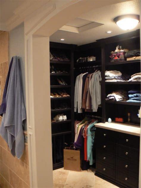 closet in bathroom walk in closet and bathroom ideas 15 ways to make your walk in closet and bathroom