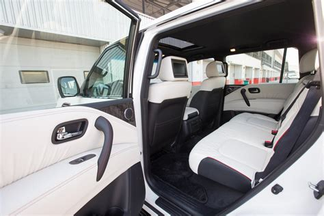 nissan patrol nismo interior nissan patrol nismo announced for middle east