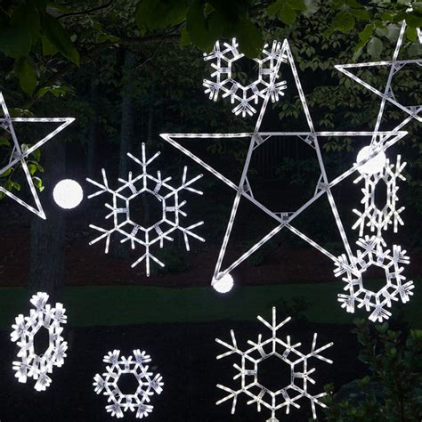 snowflakes stars 20 quot led folding twinkle snowflake