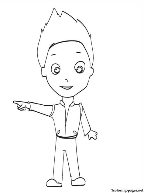 free paw patrol ryder coloring pages