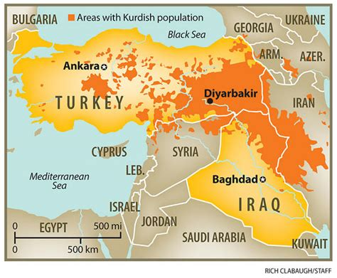 map of turkey and iraq springtime of nations kirkuk car bombing standoff in