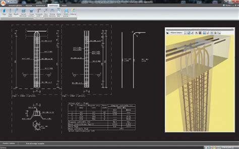 nowy layout autocad program arcadia słup żelbetowy nowy program w rodzinie
