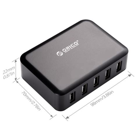 Exclusive Orico Usb Wall Travel Charger Hub 5 Port Cse 5u Black orico usb wall travel charger hub 5 port dcap 5s v1 black jakartanotebook