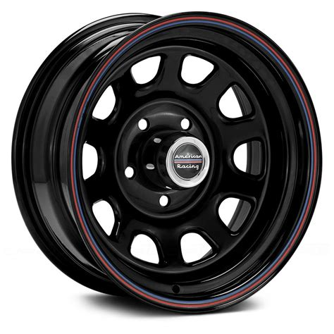 Garage Shops by American Racing 174 Ar767 Wheels Gloss Black With Red And