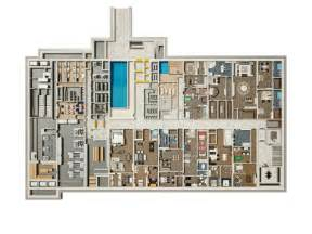 bunker floor plans this is what a billionaire s apocalypse shelter looks like