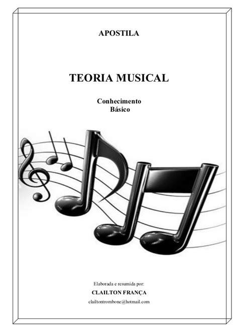Apostila teoria musical - Conhecimento Básico - Clailton