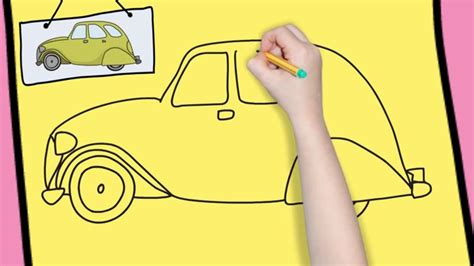 kid car drawing how to draw a car easy for simple and easy drawing