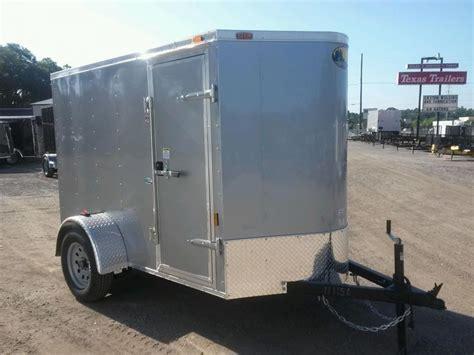 Trailer Back Door by Gans58sa Single Axle Enclosed 5x8 Cargo Trailer W Rear
