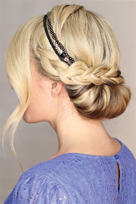 Hochzeitsfrisur Haarband by Sommerfrisuren Mit Haarband 33 Ideen F 252 R Sch 246 Ne Stylings