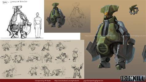 game concept design jobs artstation ironkill app game artwork the robot