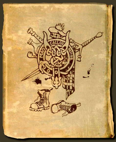 scottish clan tattoo designs scottish by levaleur on deviantart