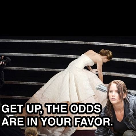 Jennifer Lawrence Meme - meme makers savor jennifer lawrence s oscars fall