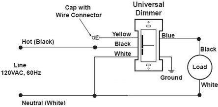new dimmer switch has aluminum ground can i attach to