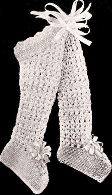 crochet pattern baby leggings vintage baby leggings booties stockings crochet pattern