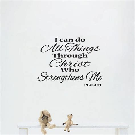 i can do all things through who strengthens me