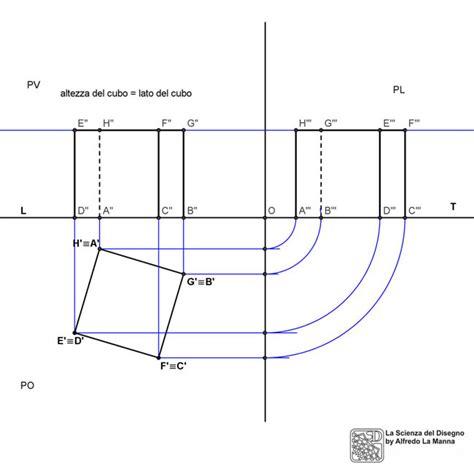 proiezioni ortogonali lettere proiezioni ortogonali di un cubo