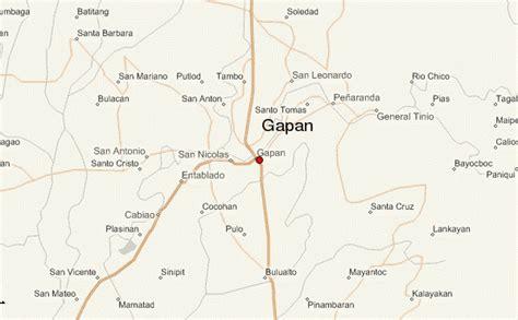 san jose nueva ecija map gapan location guide