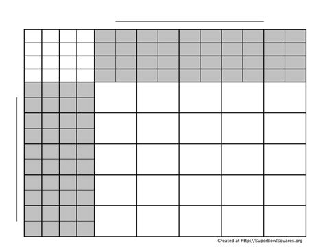 free football square template printable superbowl squares carisoprodolpharm