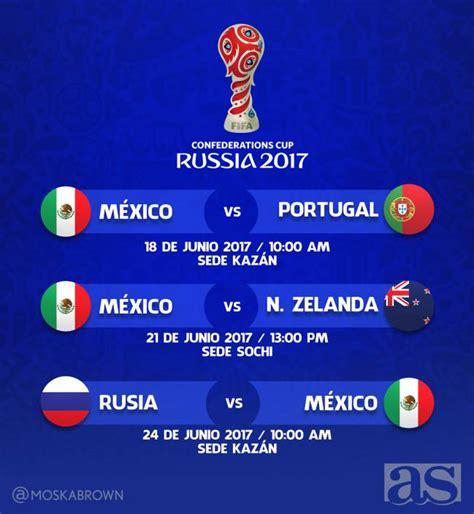 Calendario De Copa Conoce Las Fechas Y Horarios De Los Partidos De M 233 Xico En