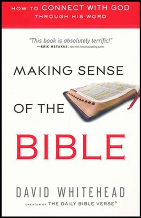 bible matters sense of scripture books book review sense of the bible by david whitehead