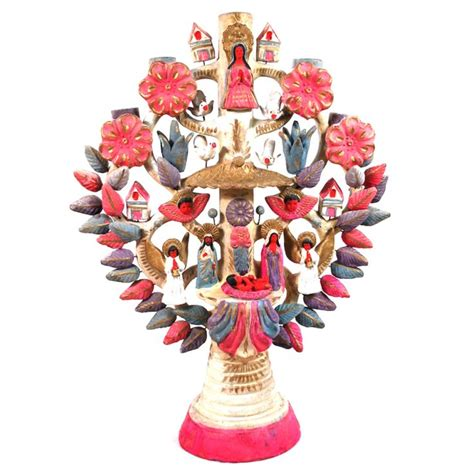 mexican style christmas decoration in pinterest mid century mexican ceramic tree of mi casa su casa mexican