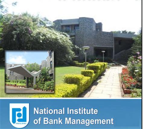 Suryadatta Institute Of Management Pune Mba Fees by National Institute Of Bank Management Nibm Pune