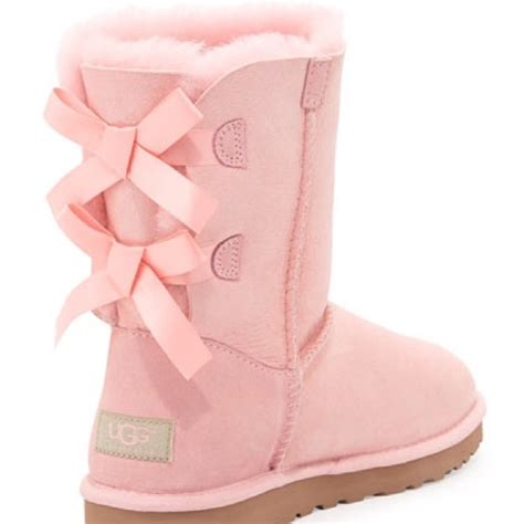 pink ugg boots with bows 51 ugg boots iso baby pink bailey bow uggs from