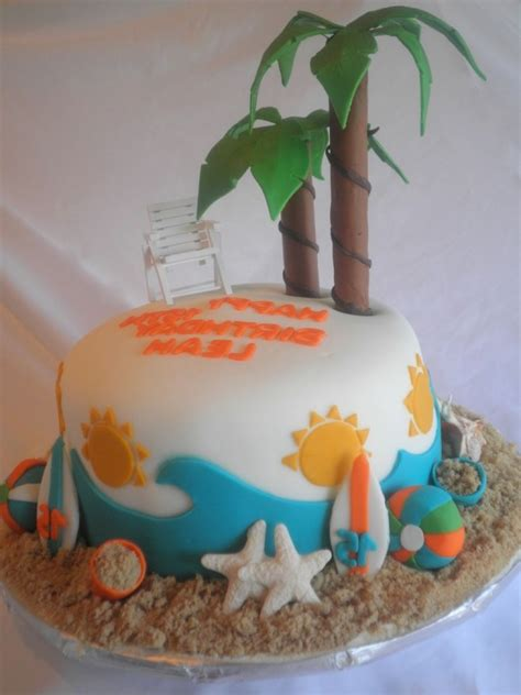themed birthday cakes soweto beach themed birthday cake 1000 images about beach