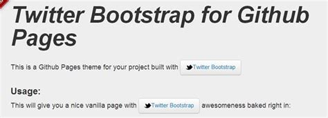templates for github pages bootstrap toolbox tools utilities generators and templates