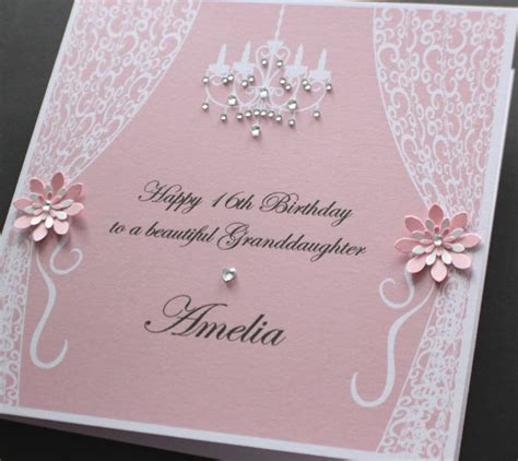 Handmade Personalised VINTAGE STYLE Birthday card (many